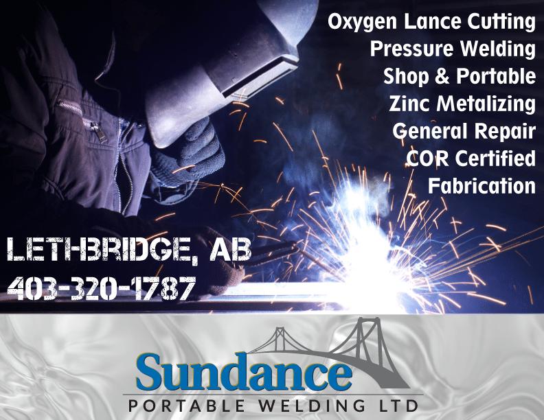 Sundance Portable Welding Ltd.